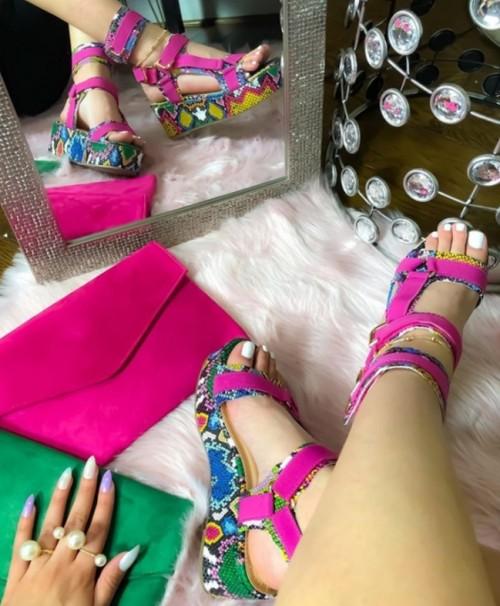 Multi Colour Slipper