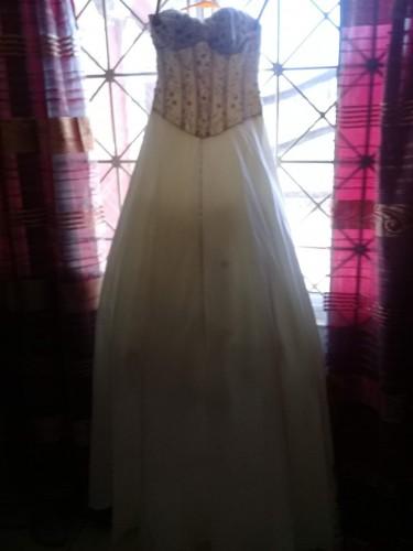 Cream/Beige Wedding Dress
