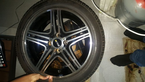 4 Rims And Tyres