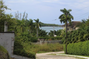 3/4 Acre With Views Of The Caribbean Sea