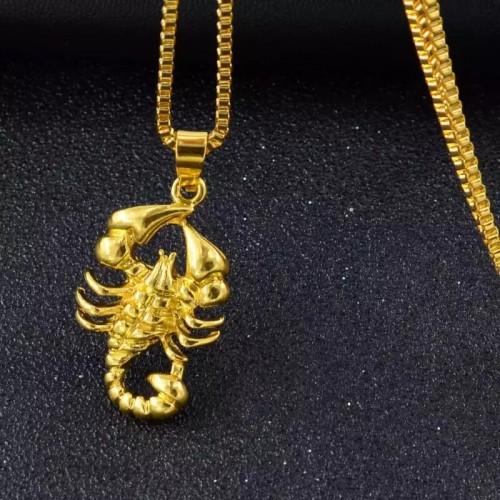 Gold Scorpion Men's Chain