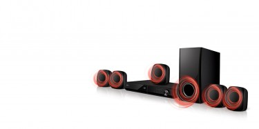 LG 330W 5.1Ch DVD Home Theatre System
