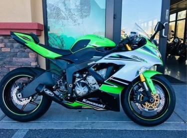 2015 Kawasaki Ninja Zx6r