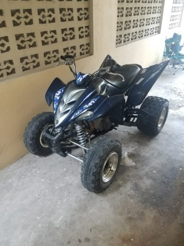 2006 YAMAHA  RAPTOR 350 ATV MOTOR BIKE