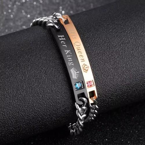 His Queen & Her King Bracelets