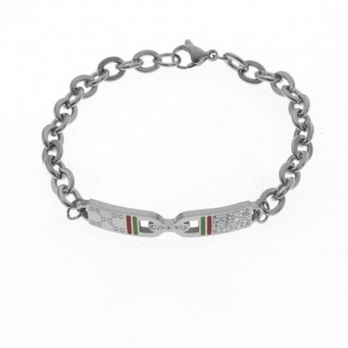 Sliver Gucci Bracelet