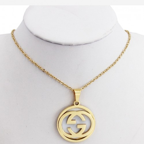 Stainless Steel Gucci Necklace