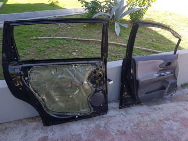 Toyota Wish Doors DAMAGED