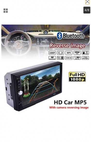 7 Inch Car MP3 MEDIA PLAYER And Reverse Camera