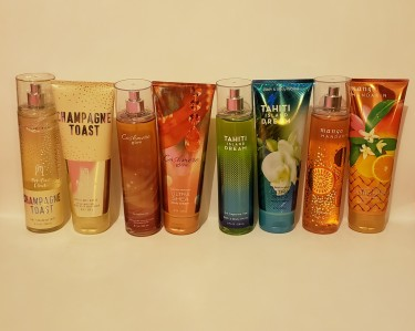 Bath And Body Works Mist & Body Cream Set