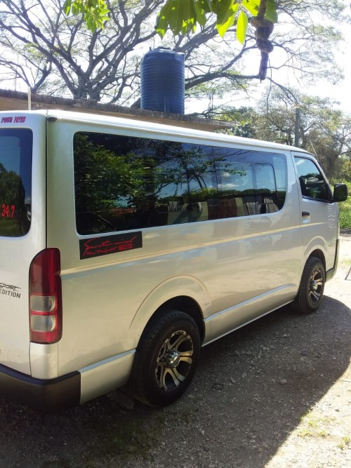 Toyota Jamaica Hiace Bus For Sale 2016