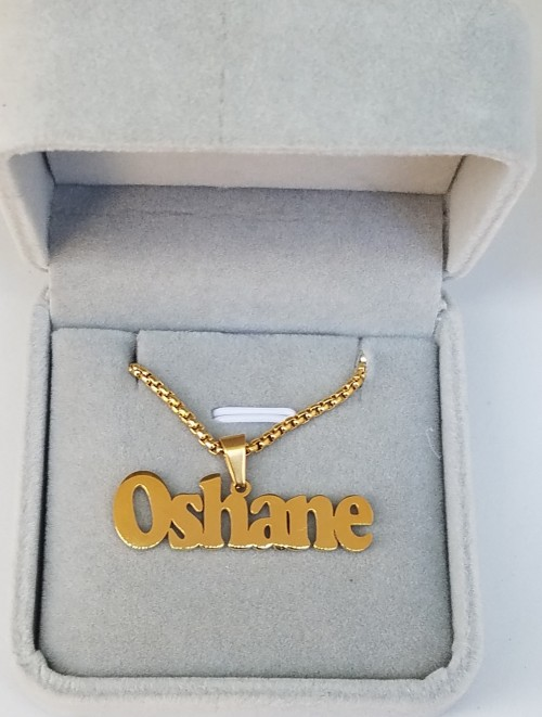 Custom Name Chain For Men