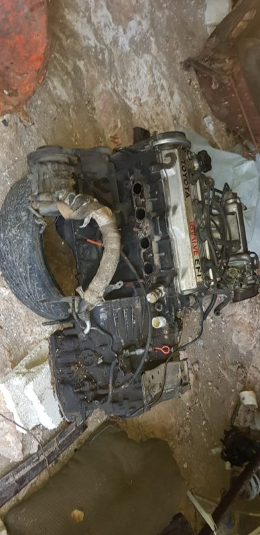 Toyota 5A Engine And Transmission