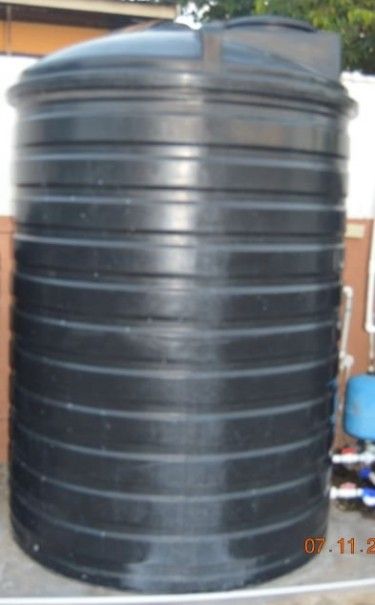 800 Gallons Water Tank