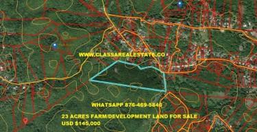 23 Acre Farm Land / Development Land For Sale