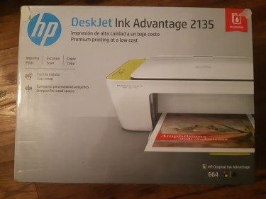 HP All In One PRINTER With Refill