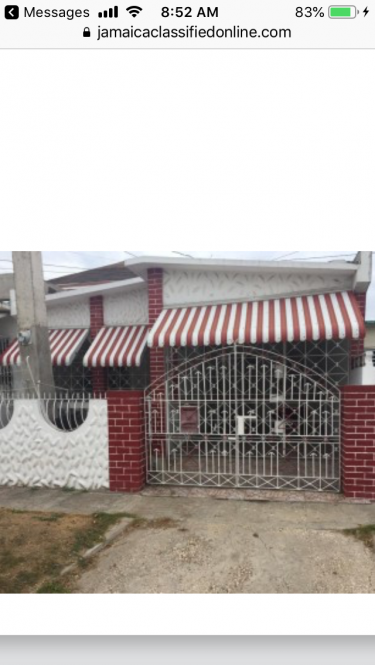 2 Bedroom House For Rent, 6East Greater Portmore