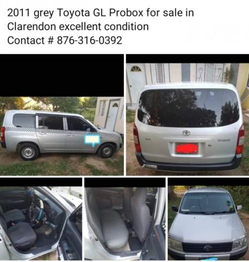 2011 Grey Toyota  GL Probox