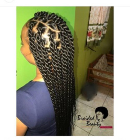Any Braids Styles Low