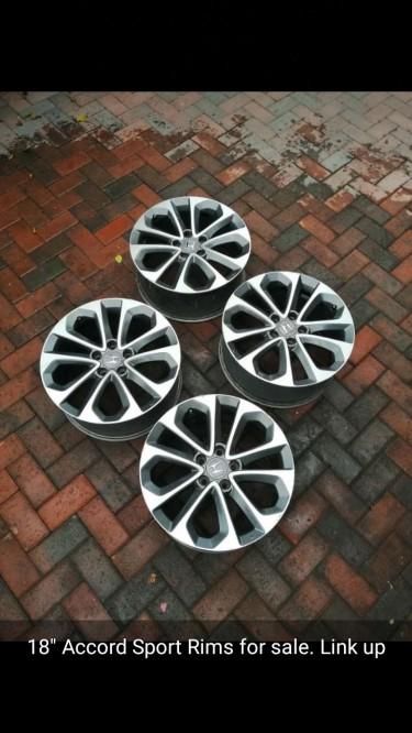 18 Inch Honda Sport Rims
