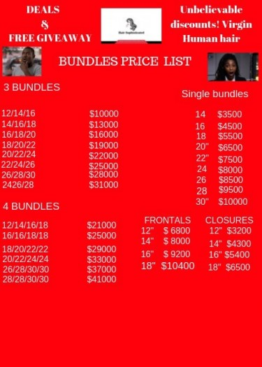 WIGS AND LASHES CHRISTMAS SALE LIMITED STOCKS ONLY