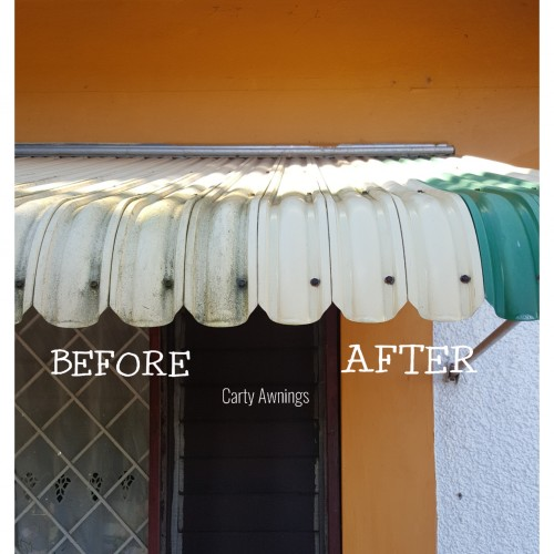 Awning Cleaning, Repairs And Spray Painting