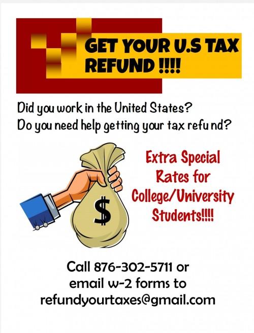 US Tax Refund Filing