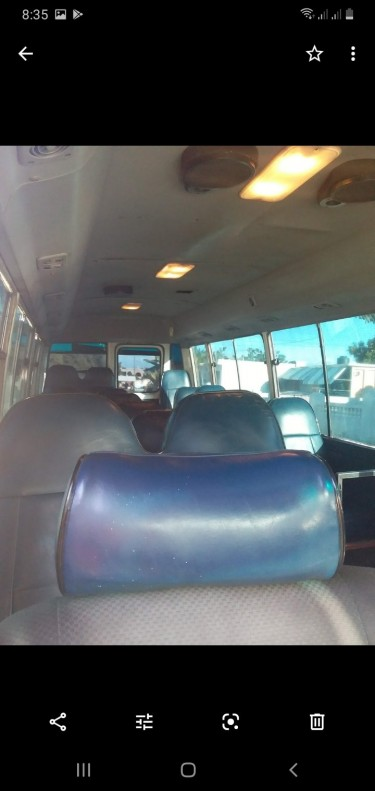 2009 Very  Clean Toyota Coaster Bus   With RD Lice