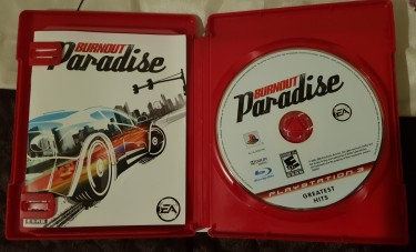 Burnout Paradise For PS3