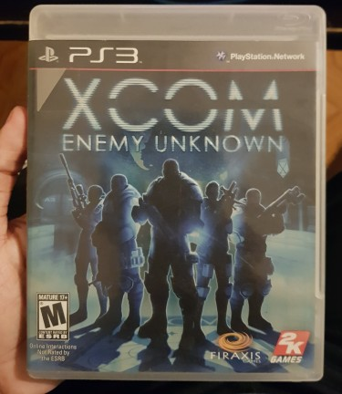 XCOM Enemy Unknown For PS3