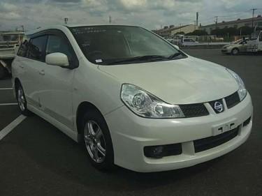 2014 Nissan Wingroad W/ Paddle Shift