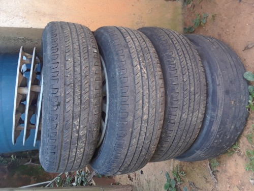 13 Inch Steel Rims With Tire