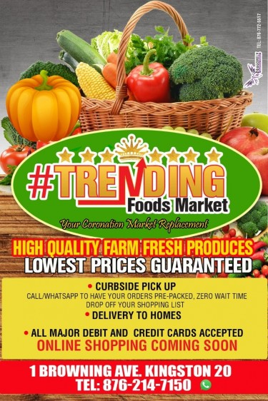 Trending Food Markets/Coronation Replacement