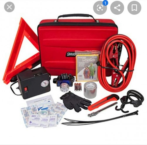 Auto Emergency Kit With Carry Case