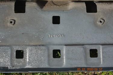 2015 Toyota Hilux Chrome Back Bumper