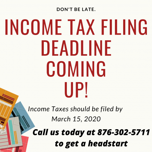 Income Tax Return Filing At Affordable Rates