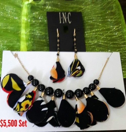 INC. Necklace And Earring Set