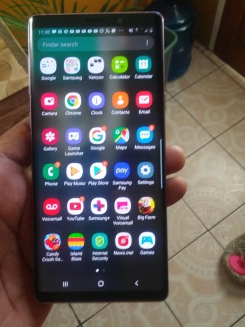 Samsung Galaxy Note 9 An S8