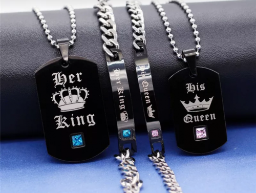 King & Queen Necklace