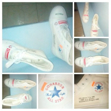 Brand New Size (38) Ladies All Star (off White)