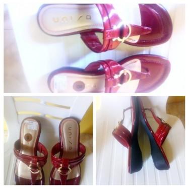 Brand New Size 8M Wine Red Unisa Ladies Slippers