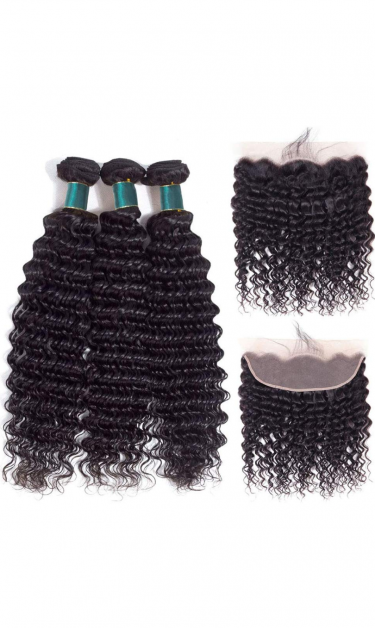 BRAZILIAN VIRGIN HAIR BUNDLES AND WIGS 10\\\