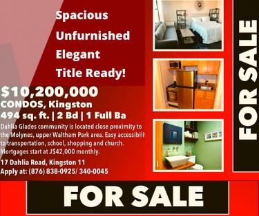Condos, Kingston | 494 Sq.ft. | 2 Bedroom | 1 Full