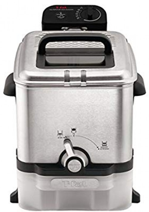 Stainless Steel Deep Fryer With Basket