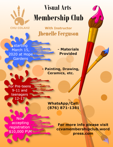 Chu Colahz Visual Arts Membership Club