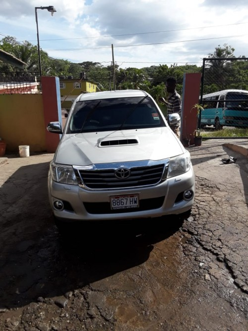 2013 Toyota Hilux For Sale Comes With A Turbo Dies