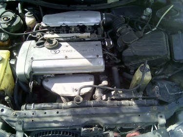 4age Silvertop Engine And Gearbox