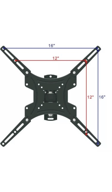 Supreme Cable Full Motion TV Wall Mount TV Claremont