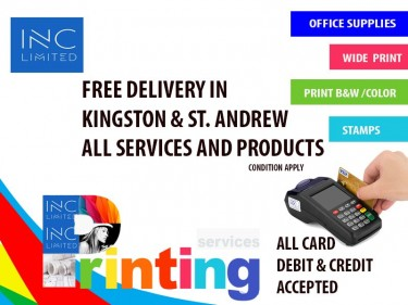 FREE DELIVERY IN  KINGSTON ALL SERVICES & PRODUCT