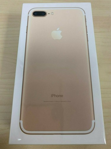 NEW SEALED Apple IPhone 7 PLUS 128GB GOLD